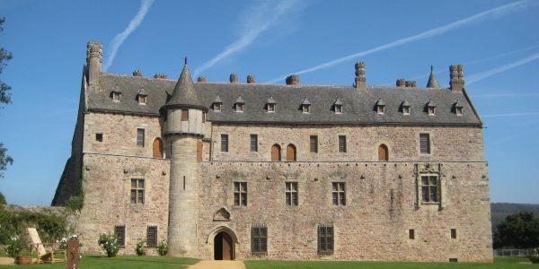 Le chateau de la Roche Jagu – Ploézal